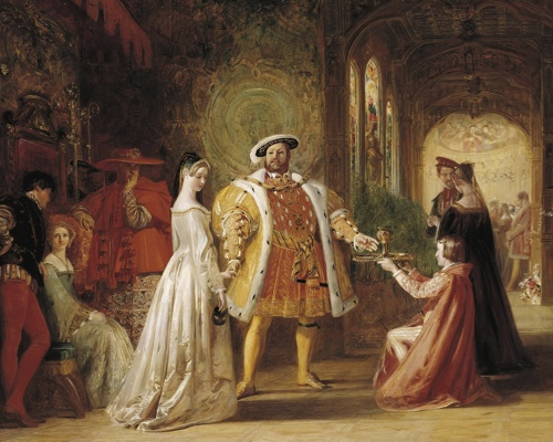First meeting of Henry VIII and Anne Boleyn