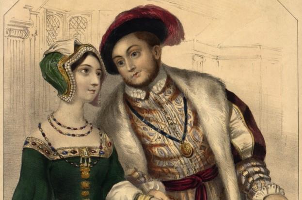 Henry and Anne Boleyn