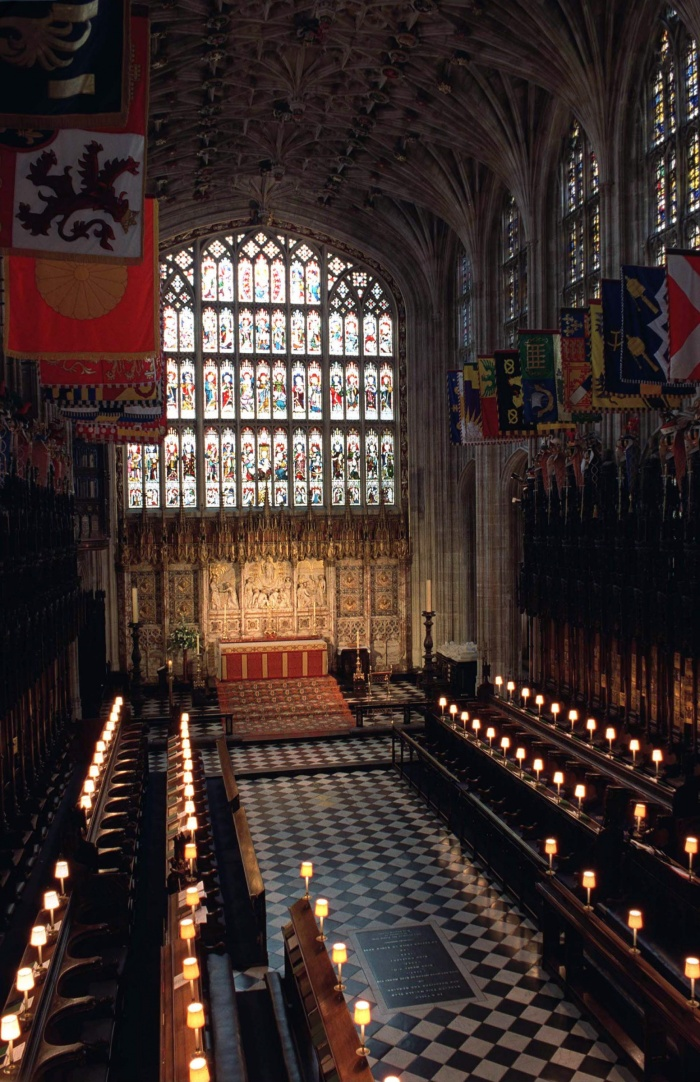 The Quire In St George's Chapel, Windsor Castle